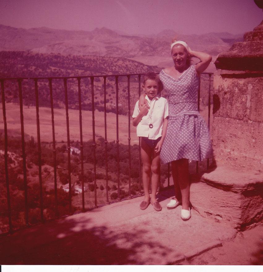 Premiers voyages, en Espagne. Années 60
