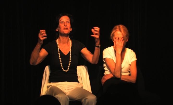 Brigitte Lucas et Agnès Aubé, brillantes !...