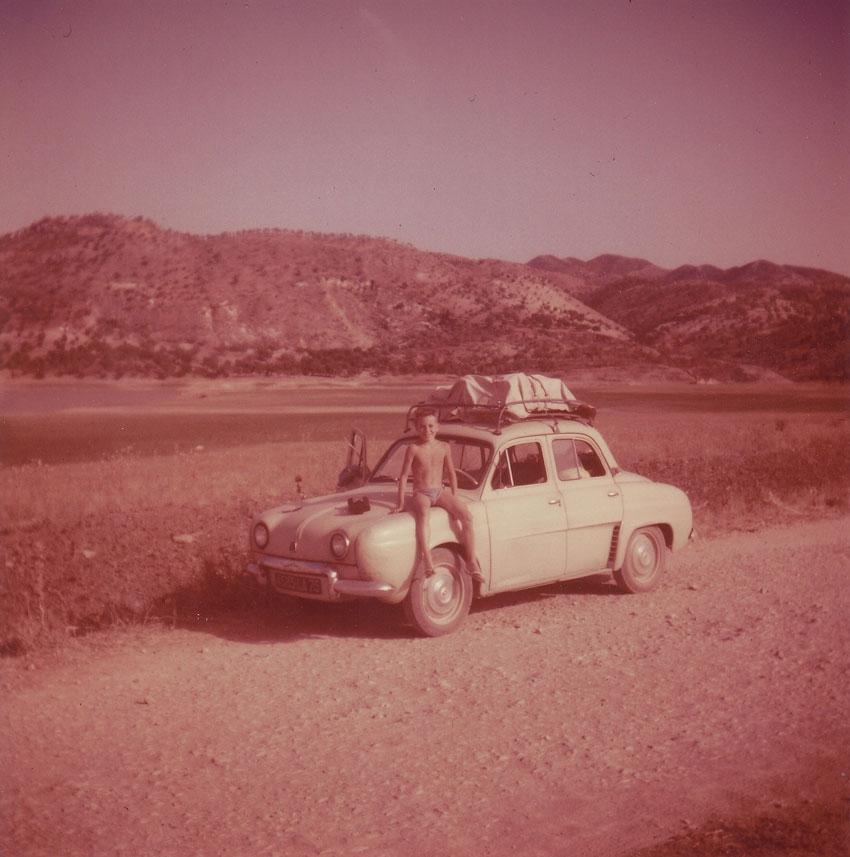 Années 60. En Dauphine sur les pistes du Maroc...