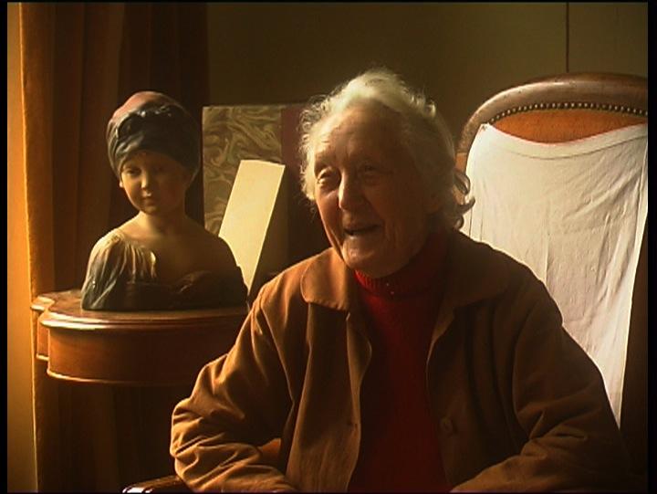 Aude nous raconte sa grand-mère, dans le film Aude et André