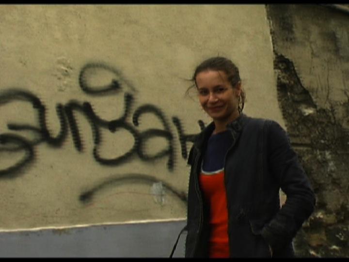 Sophie Belissent dans 'Les Croissants de Clignancourt'